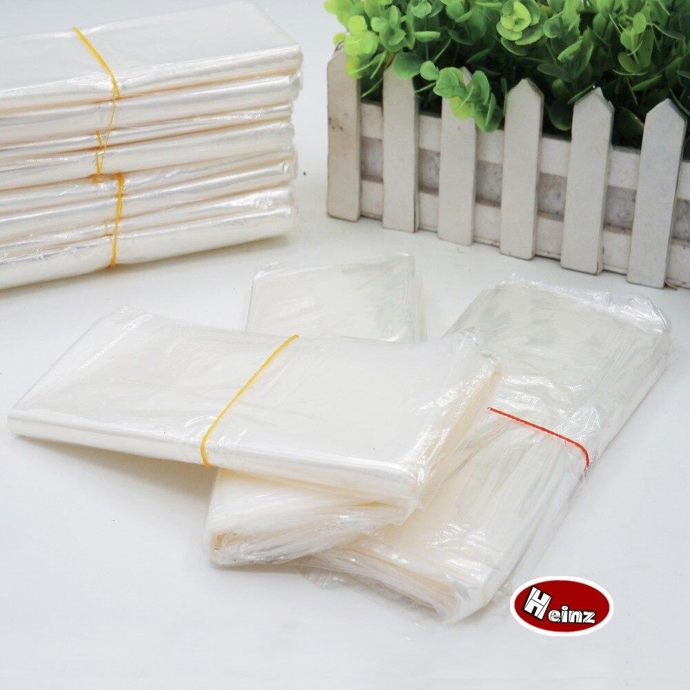 1530cm pof heat shrink bag transparent shrink wrap package heat seal bag gift packing