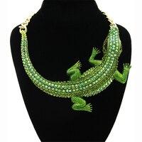 YD & YDBZ, новинка, панк кулон, ожерелье с крокодилом, украшение на Хэллоуин, ювелирные изделия в стиле хип-хоп, вечерние, богемные чокеры, бижуте...