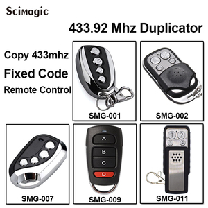 Image 2 - For PROTECO TX433 PTX433 405 PTX433 AZUL 433.92MHz remote control PROTECO transmitter clone gate Garage door opener