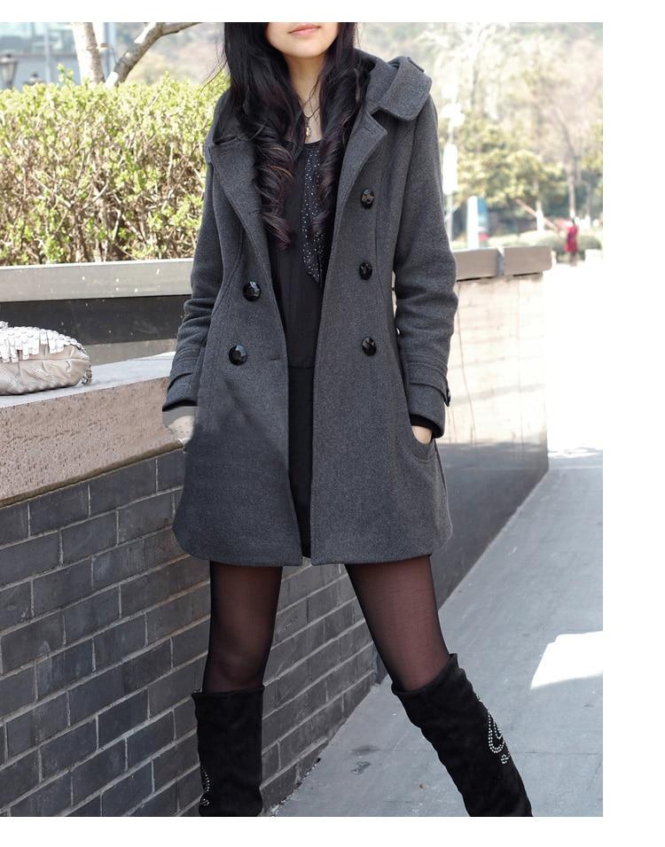 abrigo capucha mujer delgada 7