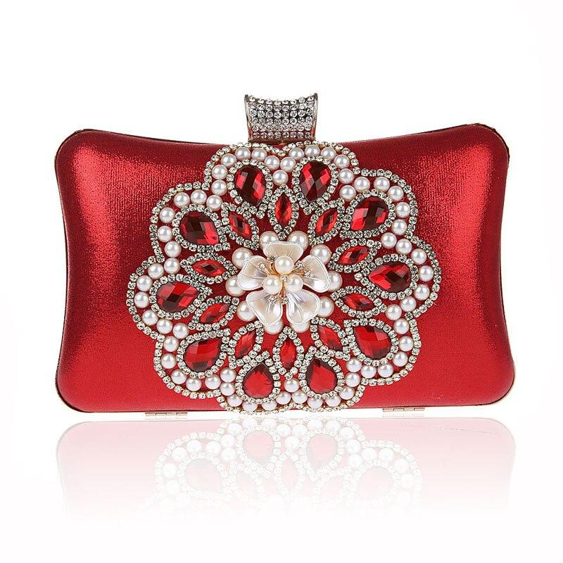 ФОТО Classical Fashion Sunflower Hand Bag Ladies Mini Long Evening Clutch Bags Design Bridal Wedding Party Chain Crystal Purse XA546H