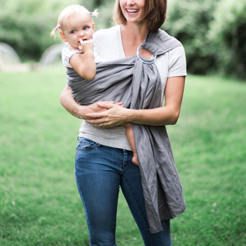 200cm Baby Carrier Sling With Pocket Newborn Infant Wrap Slings for Outdoor Walking Shopping BM88|Backpacks & Carriers| |  - title=