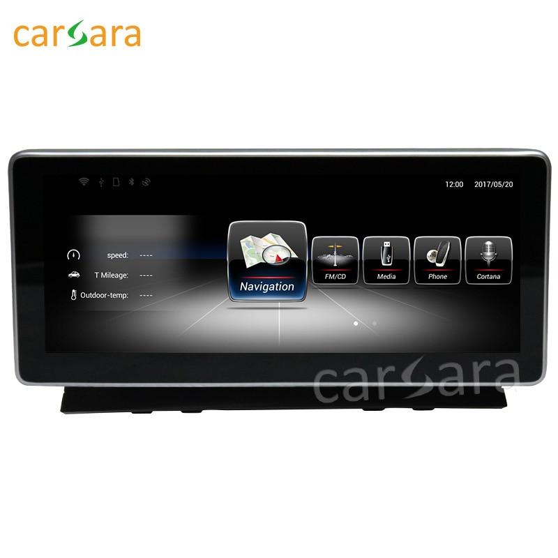 Carsara Android affichage pour Benz C classe W204 2008 à 2010 10.25