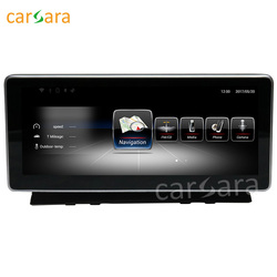 Carsara Android display für Benz C Klasse W204 2008 zu 2010 10,25 touch screen GPS Navigation stereo radio multimedia player