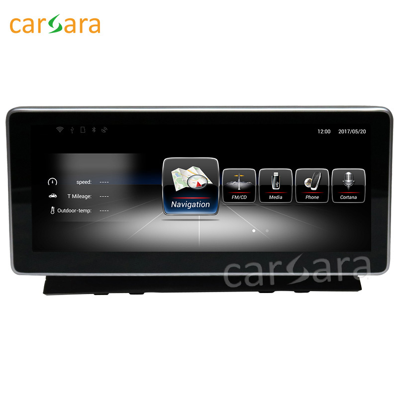 carsara Android display for Benz C Class W204 2008 to 2010 10.25 touch screen GPS Navigation stereo radio multimedia player