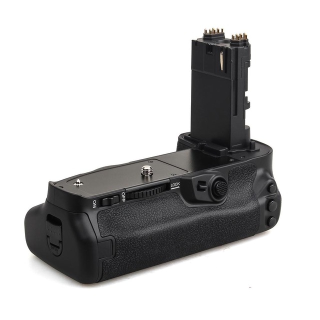 Meike MK-5D4 Multi-Power Battery Grip Pack for EOS 5D mark IV as BG-E20 Replacement works with LP-E6 Battery camera battery grip pixel bg e20 for canon eos 5d mark iv dslr cameras batteries e20 lp e6 lp e6n replacement for canon bg e20