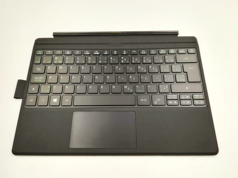Original Magnet Keyboard for 12 inch Acer Switch Alpha tablet pc for Acer Switch Alpha 12 keyboard alpha hydrox 12