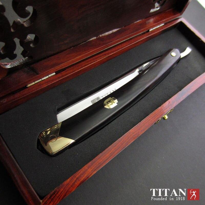 Titan hohe qualität rasieren rasierer edelstahl klinge sharp bereits staight rasierer kostenloser versand - 4