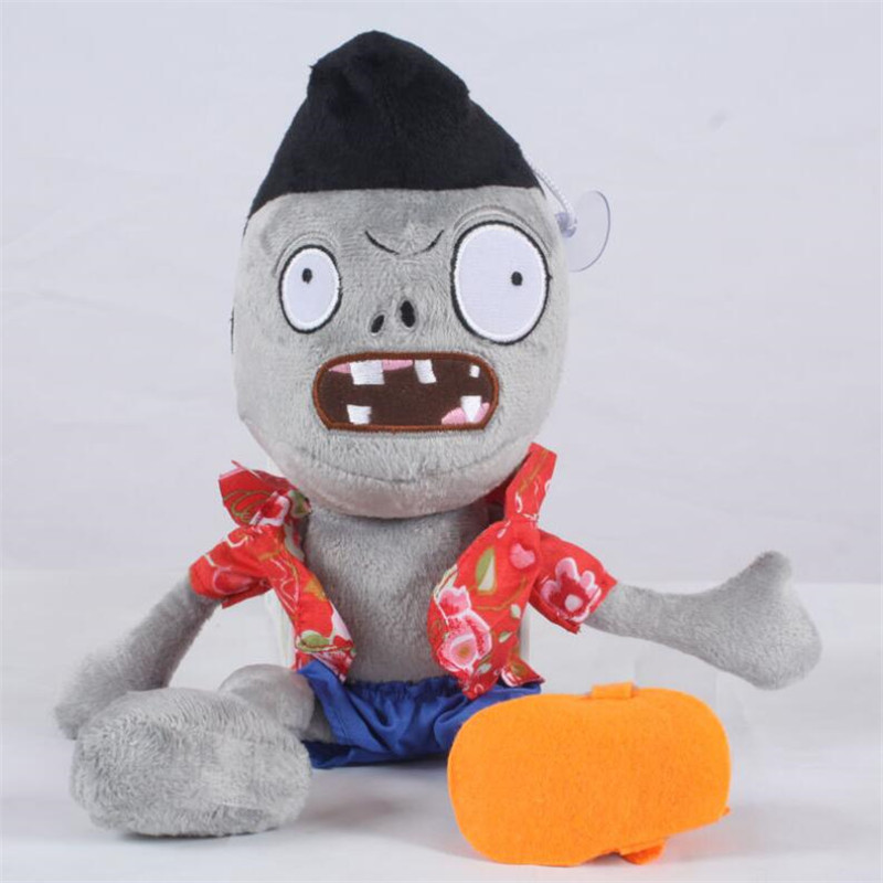 Hot sales Green Zombie Plants vs zombies plush toy Doll Stuffed Animals Baby Toy for Children Gifts toy