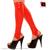 Rodilla Pantorrilla Medias Abierta con Pies Rojo Sexy Medias De Látex De Caucho Gummi Wear Cut Pie Pies Tamaño de la Manguera