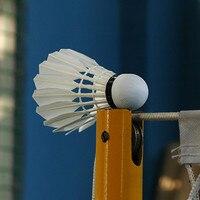 Better Than Li Ning A+60extra Badminton Shuttlecock MY7 Goose Feather Flying Stability Durable Birdies Battledore L9999SPC
