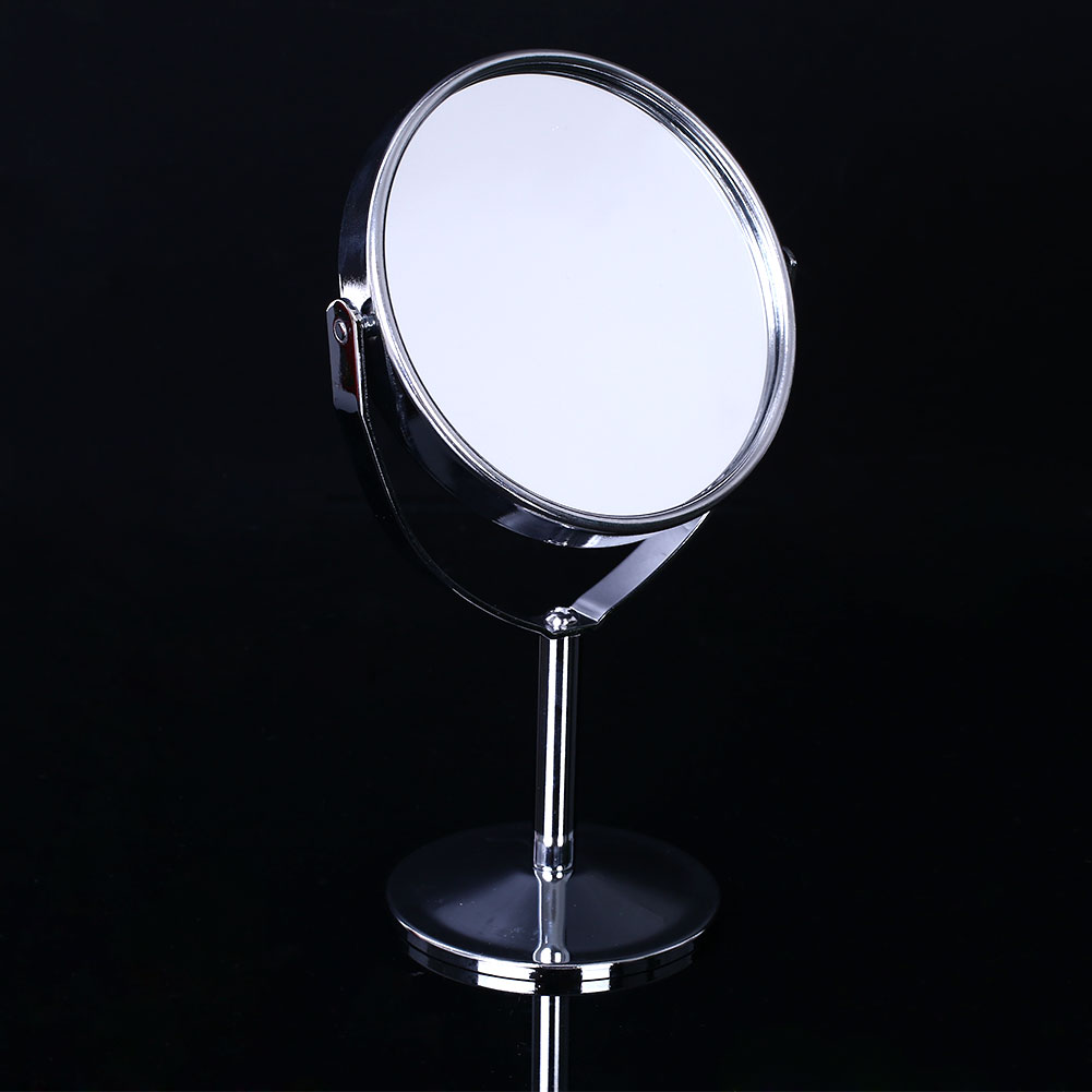 Beauty cosmetic tool round circle makeup mirror double for Beauty mirror