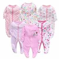Newbron inverno macacão de bebê manga longa conjunto algodão bebê junmpsuit meninas ropa bebe roupas do bebê da menina do menino