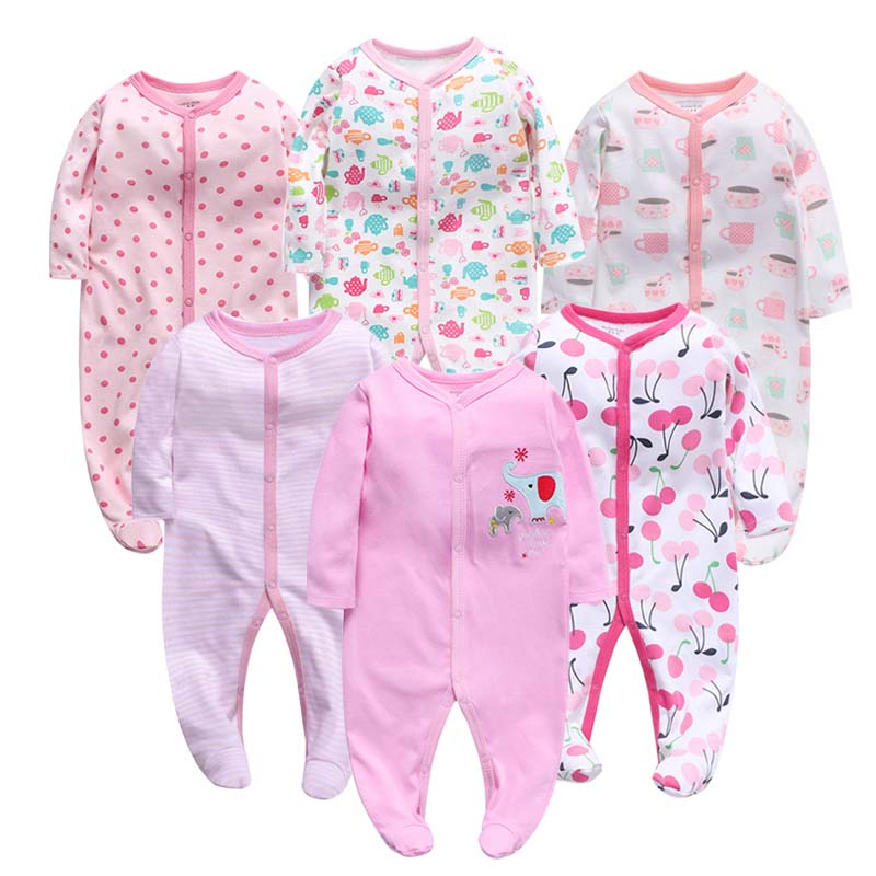 Newbron Winter Baby Rompers Long Sleeve Set Cotton Baby Junmpsuit Girls Ropa Bebe Baby Boy Girl Clothes
