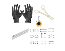 1Set Body Piercing Tools 6 Style Professional Piercing Tool