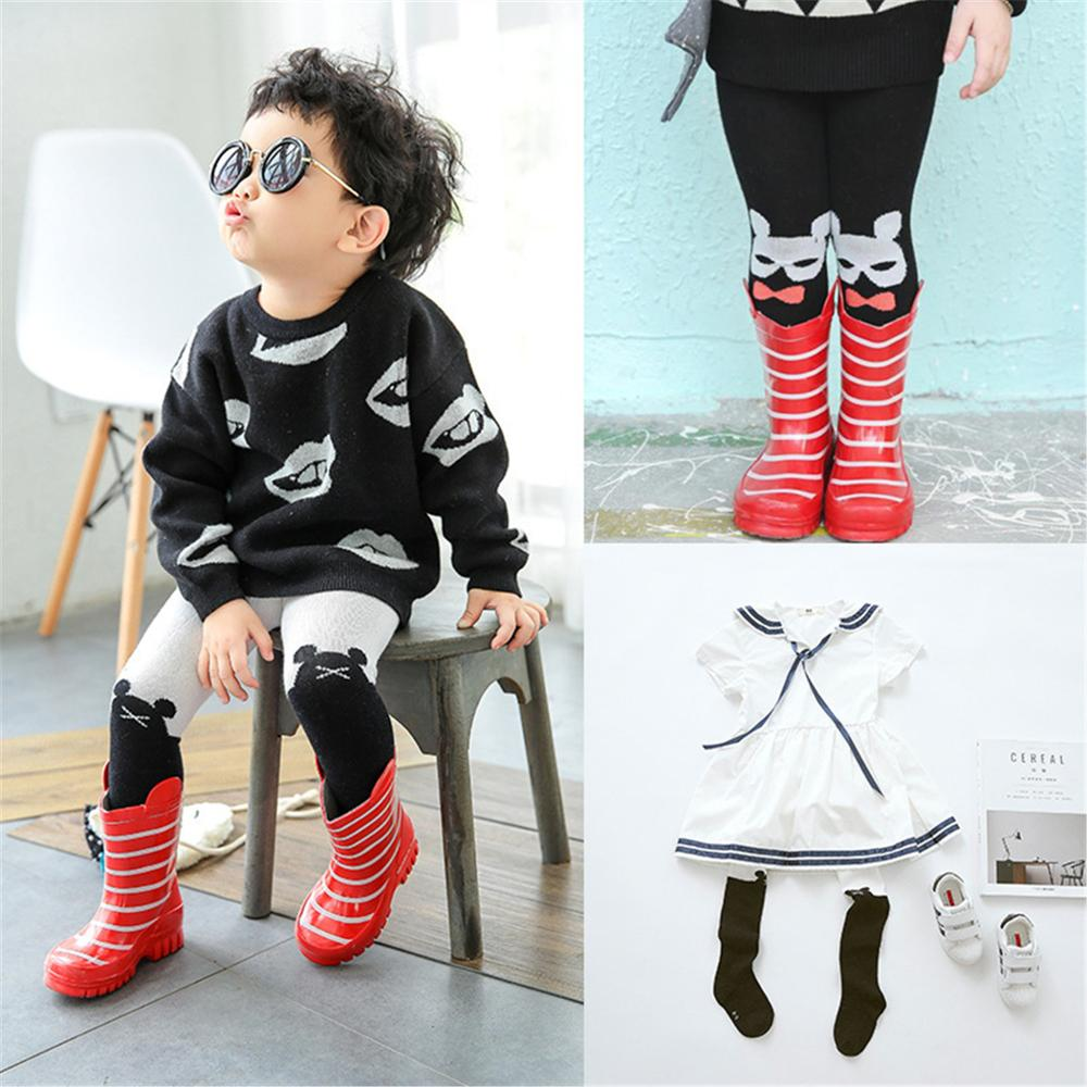 Animal Cute Infant Baby Girls Tights Toddler Kids Pantyhose Autumn Winter 0-3 Years
