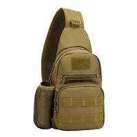 Tactical Nylon Men Cross Body Messenger Shoulder Bag Riding Military Assault Male Sling Chest Day Back