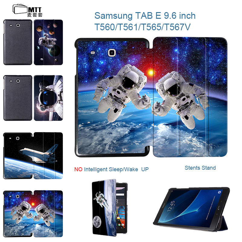 все цены на MTT Astronaut SPACE PU Leather case cover for Samsung Galaxy Tab E 9.6 T560 T561 9.6'' Tablet cover case Model SM-T561 SM-T560