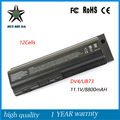12cell 11.1V 8800mah Japanese Cell New Laptop Battery for HP  DV4 DV5 CQ50 CQ60 CQ61 DV6 G61 G62