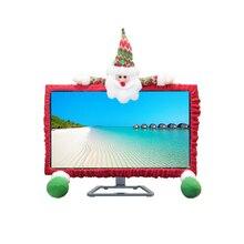 Компьютерные украшения защита от пыли милые рождественские украшения дизайн Компьютерная Защитная пленка для ноутбука
