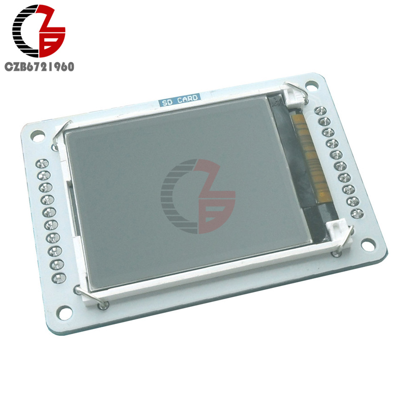 DC 5V 128x160 1.8 TFT LCD Screen Display Shield Module With MicroSD Card Slot SPI Serial Interface For Arduino Robot Esplora