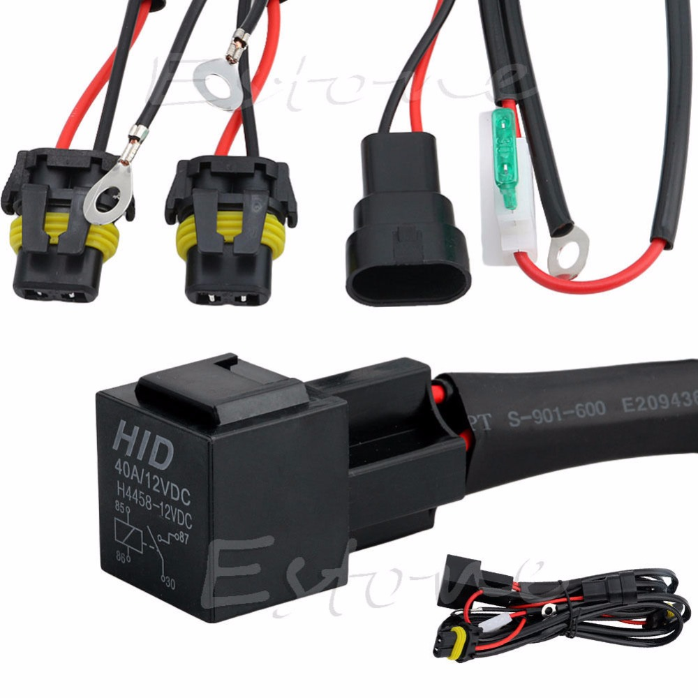 hid xenon relay wire conversion light wiring harness 9006 9005 h1 h7 h8 h9 h11 9006 [ 1000 x 1000 Pixel ]