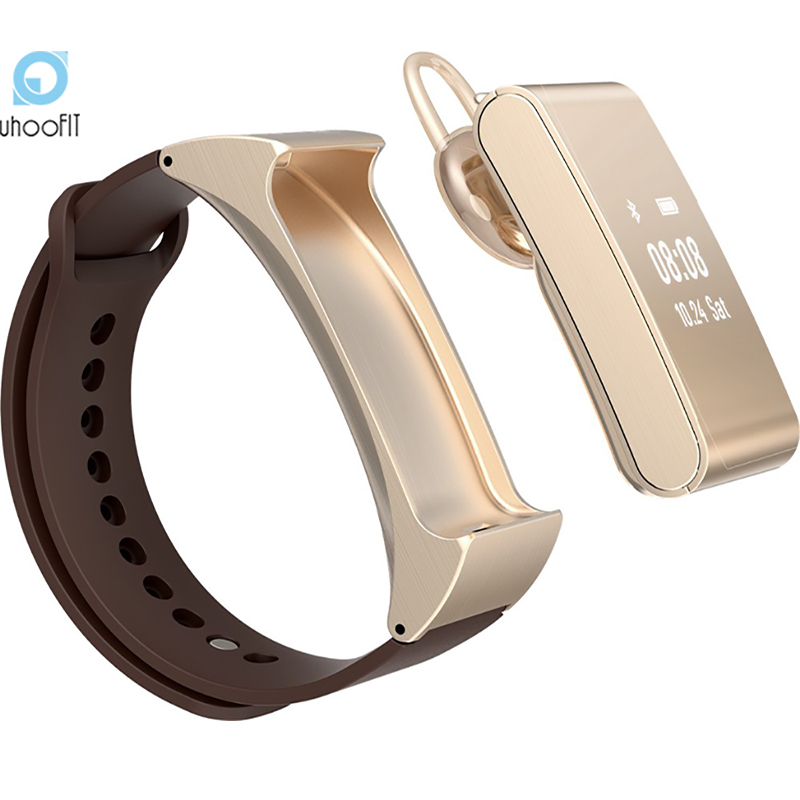 buy smartband uf m8 smart wristband spot talk band bracelet bluetooth headset. Black Bedroom Furniture Sets. Home Design Ideas