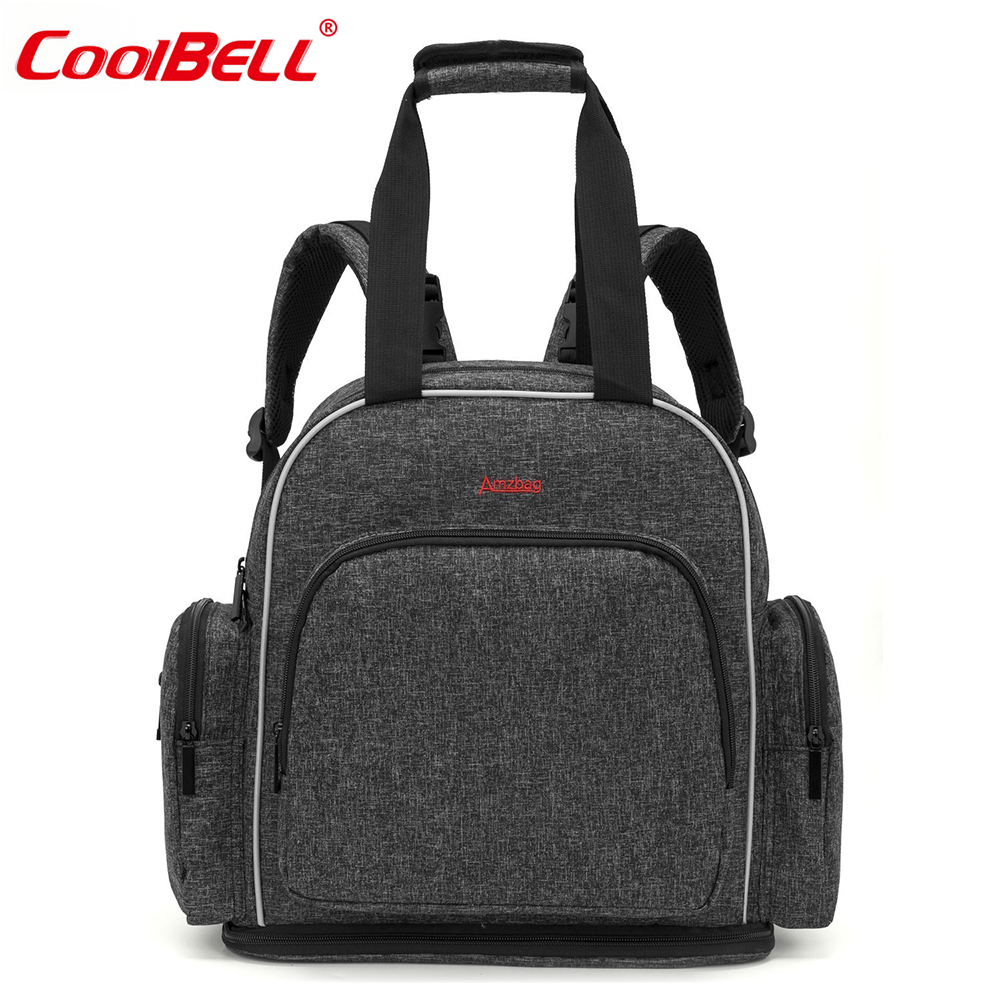 CoolBell Brand Multifunction Baby Diaper Backpack Maternity Mummy Bag Stroller Bag Waterproof Travel Nursing Bag For