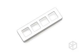 Image 5 - Xd004 xiudi 4% مخصص لوحة المفاتيح الميكانيكية 4 مفاتيح التبديل المصابيح PCB مبرمجة قابلة للتبديل الساخن مفتاح الماكرو الفضة حافظة منفذ مايكرو
