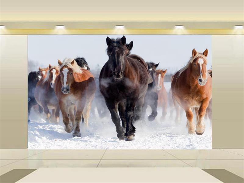 Popular Horses Wallpaper-Buy Cheap Horses Wallpaper Lots