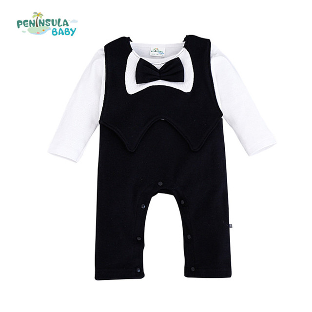 f63ac3a15 Baby rompers for boys girls twins baby clothes wedding birthday ...