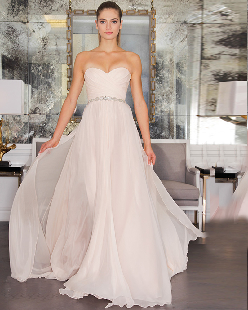 Blush Plus Size Wedding Dresses With Michigan