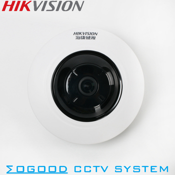 Hikvision DS-2CD3935FWD-IWS 3MP Fisheye View 360 IP Camera Support Hik-Connect App WiFi SD Card PoE IR 10M replace DS-2CD3942F-I