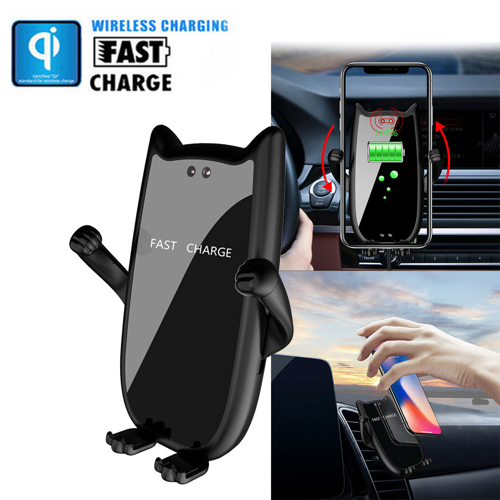 Wireless-Charger Car-Phone-Holder Ugreen iPhone Galaxy Qi Car Samsung 10W for S9 Fast