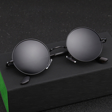 XIWANG 2019 New Style Temperament Fashionable Polarized Sunglasses Small Round Frame Men Womens Retro Personality