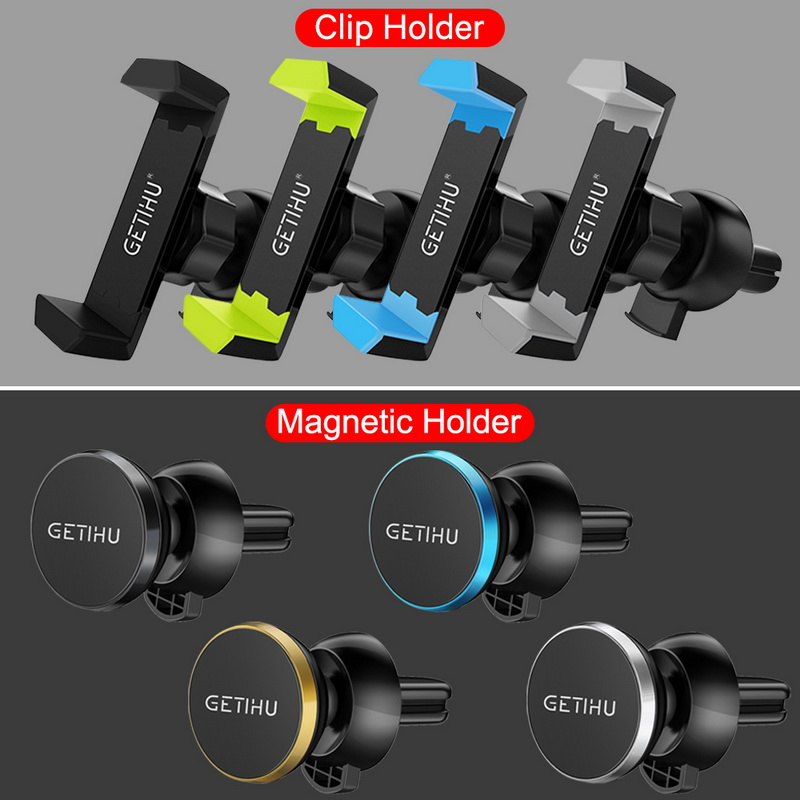 HTB1ZoffXx2rK1RkSnhJq6ykdpXao - GETIHU Car Phone Holder For iPhone X XS Max 8 7 6 Samsung 360 Degree Support Mobile Air Vent Mount Car Holder Phone Stand in Car