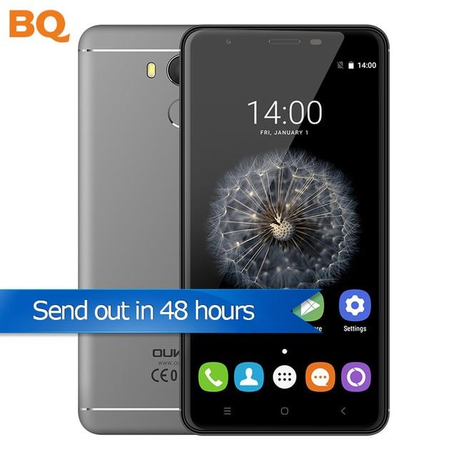 Original Oukitel U15 Pro Mobile Phone 5.5 Inch 1280x720 MTK6753 Octa Core Android 6.0 3GB+32GB 4G LTE 3000mAh