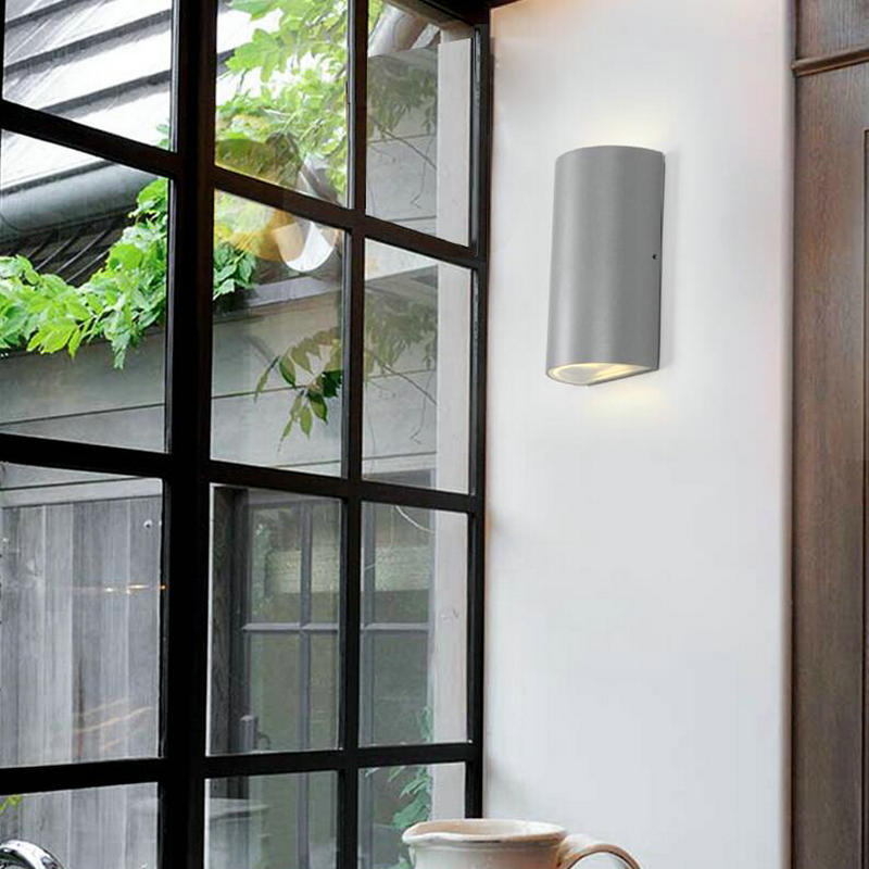 Sincere New Outdoor Waterproof Ip65 Wall Lamp 9w Aluminum Colorful Led Wall Light Indoor Sconce Decorative Lighting Porch Garden Lights Lights & Lighting Led Outdoor Wall Lamps