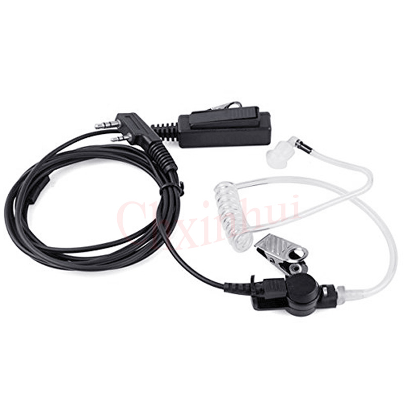 Air Tube Earpiece Headset For Walkie Talkie Baofeng  UV-5R BF-888S Kenwood Two Way Radio