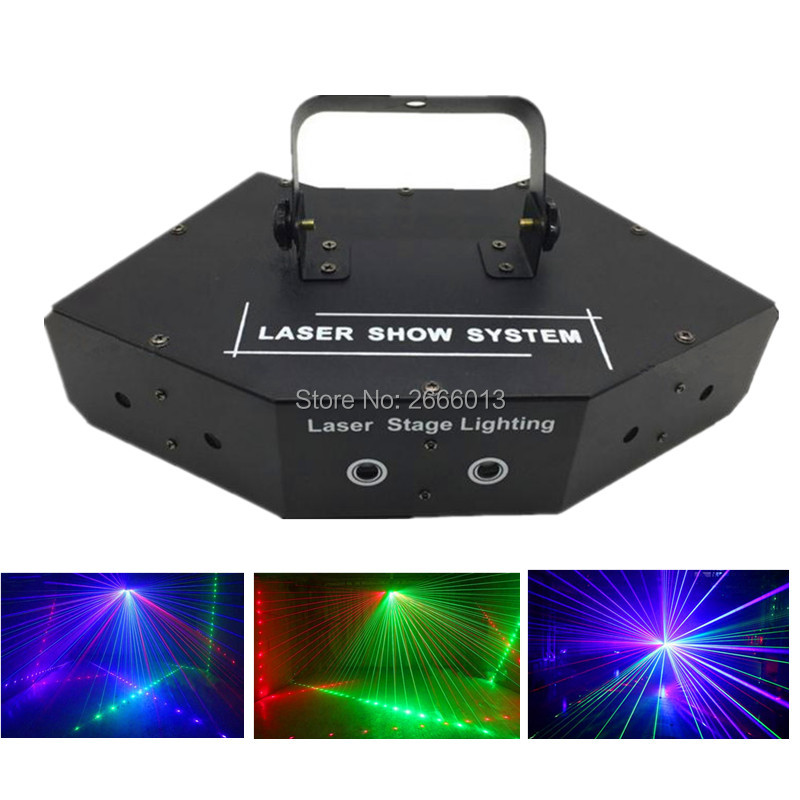 RGB Full color DMX512 LED Beam Network Laser Light/LED stage effect lights/laser projector/KTV DISCO home party lamp/dj lighting led effect show stage lamp for dj ktv bar disco lights laser projector showers light christmas holiday home decoration lighting