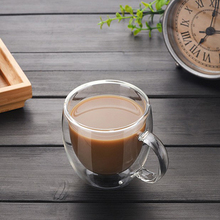 200ml Double Wall Glass Coffee Tea Cup