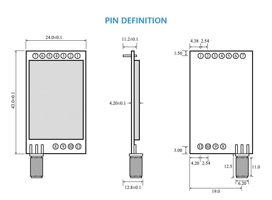 E32-433T30D SX1278 LoRa  (3)