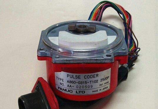 A860 0315 T103 2500 P импульса кодер Fanuc AC Серводвигатель кодер
