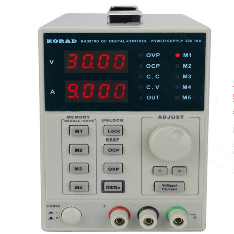 KORAD KA3010D précision Variable réglable 30 V, 10A 0.01 V 0.001A DC alimentation linéaire classe de laboratoire régulée numérique