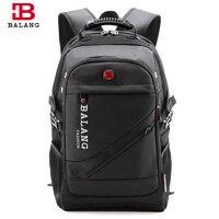 BALANG Brand Man Classic Laptop Backpack Men S Travel Bag Water Resistant Shoulder Bags For Computer
