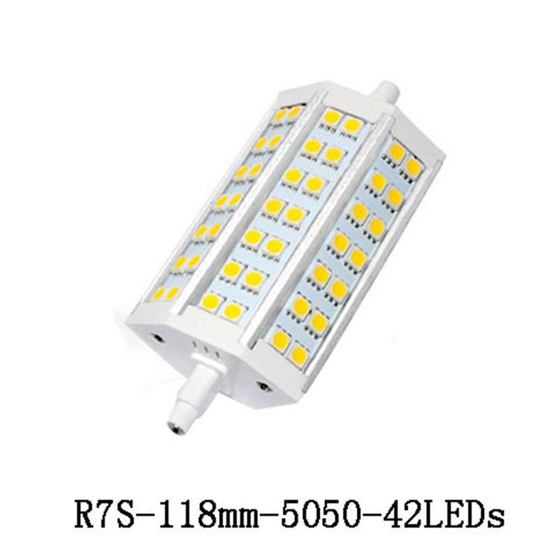 R7S LED Light Led Bulb Lamp SMD 5050 r7s 78mm J78 118mm J118 78mm AC 110V 220V led Spotlight Replace Halogen Floodlight Lamp