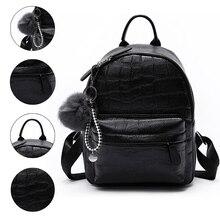 Mini Backpacks Women PU Leather Cute Small Backpack Female White Back Pack Black for Teen Girls Fashion Bagpack Woman