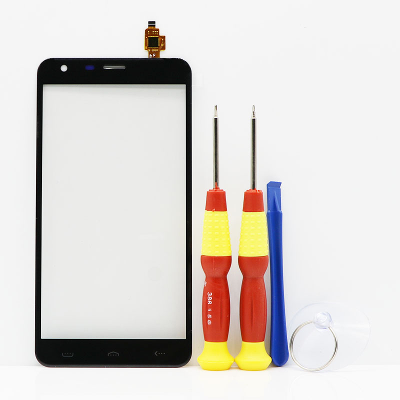 New original Touch Screen Touch Panel For HOMTOM HT30 Replacement Parts + Disassemble Tool+Glue FPC-YCTP55189FS