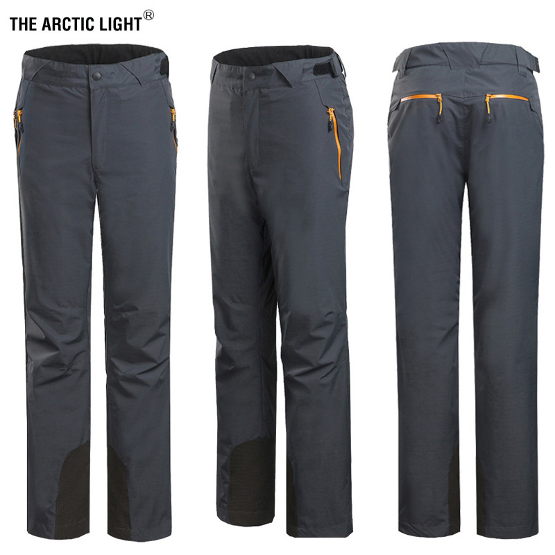 AD163 Male men outdoor clothing charge trousers climbing trousers two-piece fleece lined with detachable ski pants
