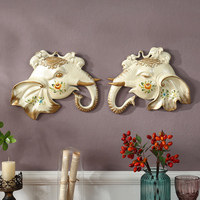 European style decorative wall ornaments dining room entrance wall mural wall like jewelry pendant Home Furnishing